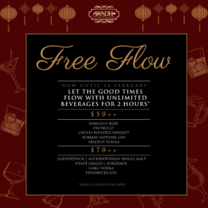 LUNAR NEW YEAR FREE FLOW BEVERAGE PACKAGE 2